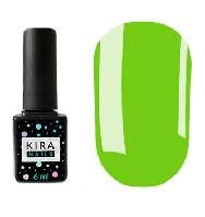 Гель-лак Kira Nails №125 (приглушенный свет зеленый, эмаль), 6 мл