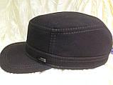 Немка коричневая и чёрная плотного джинса с утеплением  56-57 58-59 60, фото 3