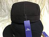 Немка коричневая и чёрная плотного джинса с утеплением  56-57 58-59 60, фото 6