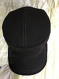Немка коричневая и чёрная плотного джинса с утеплением  56-57 58-59 60, фото 9