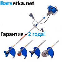 Бензокоса Витязь БГ-5800 (4х тактная) (гарантия 2 года, 2 ножа, катушка, паук, рюкзачный ремень)