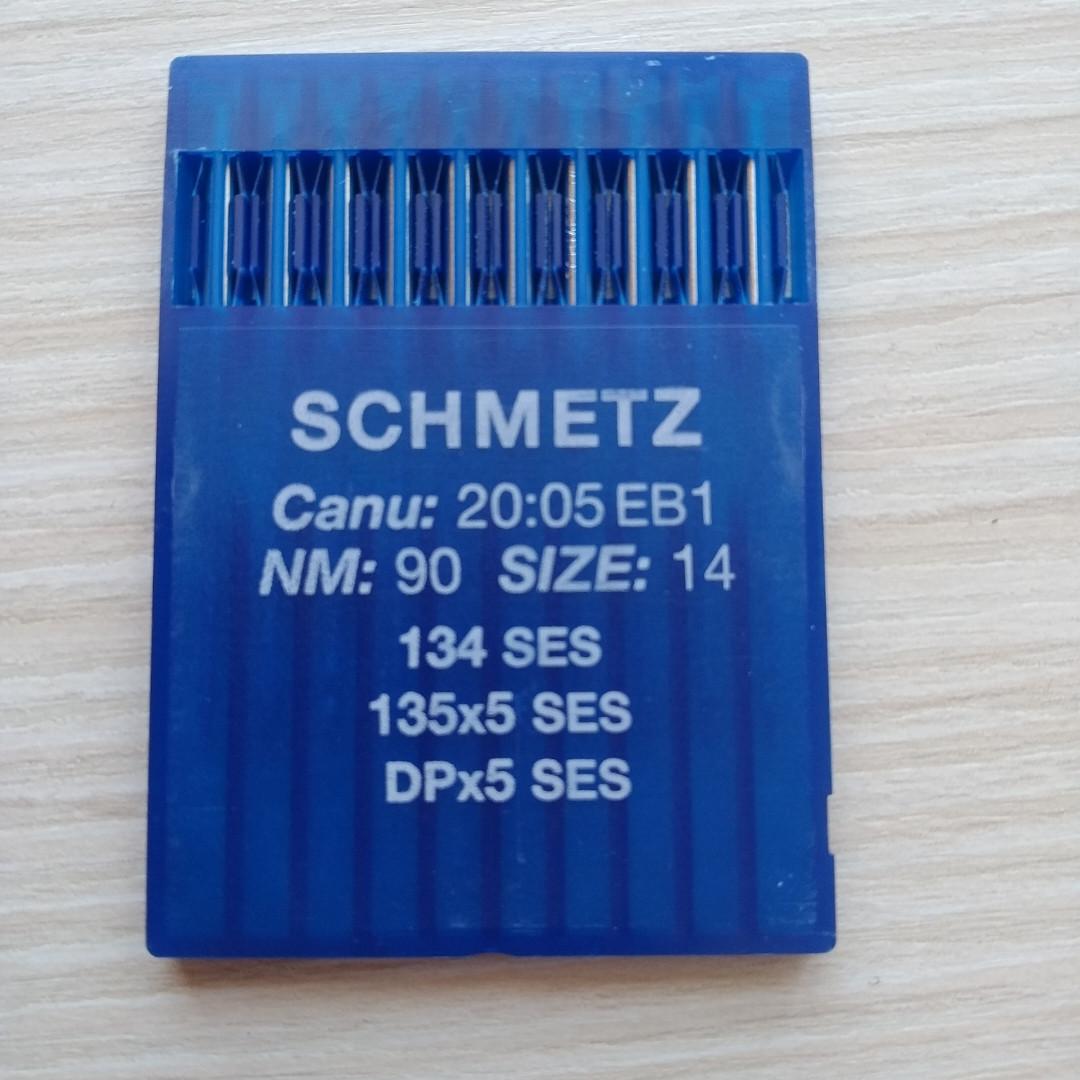 Голки Schmetz DB5/SES/90  для промислових  швейних машин
