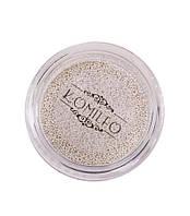 Komilfo бульонки (металлические) серебро, 0.4 мм, 6 грамм