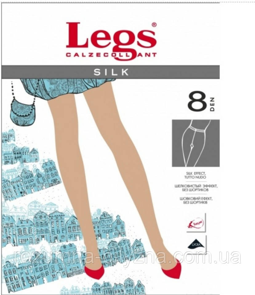 Колготи чорні 8 ден TM Legs Розмір 3
