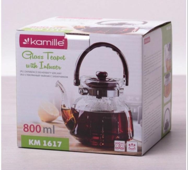 Чайник заварочный Kamille 800 мл.