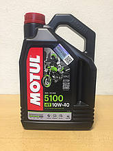 Масло MOTUL 5100 4T 10W-40 4л (104068)