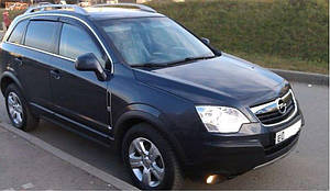 Ветровики Opel Antara 2006-2010  дефлекторы окон