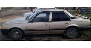 Ветровики Opel Ascona C Sd 1981-1988  дефлекторы окон