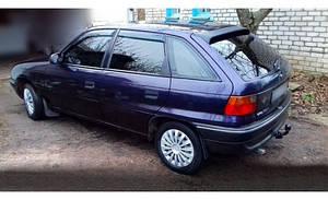 Ветровики Opel Astra F Hb 5d 1991-1998  дефлекторы окон