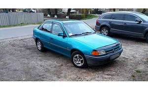 Ветровики Opel Astra F Sd 1991-1998  дефлекторы окон