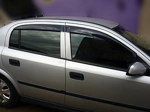 Ветровики Opel Astra G Sd/Hb 5d 1998-2004  дефлекторы окон