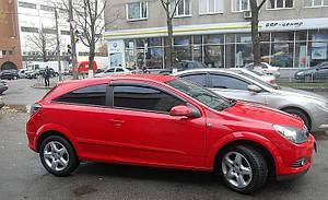 Ветровики Opel Astra H Hb 3d 2005-2012   дефлекторы окон
