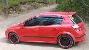 Ветровики Opel Astra H Hb 5d 2004-2012  дефлекторы окон