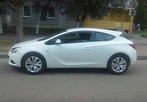 Ветровики Opel Astra J GTC 3d 2011  дефлекторы окон