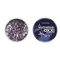 Гель-краска Oxxi Glitter Gel Hollywood №04, 5 г