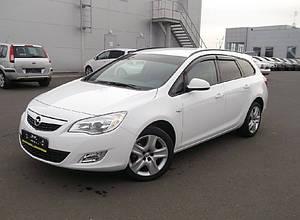 Ветровики Opel Astra J Sports Tourer 2010-2015  дефлекторы окон