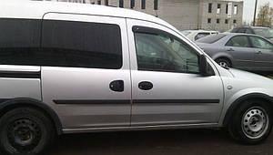 Ветровики Opel Combo C 2d 2001-2011 дефлекторы окон