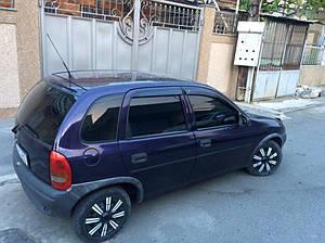 Ветровики Opel Corsa B 1994-2000  дефлекторы окон