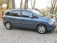 Ветровики Opel Zafira A 2000-2005/Travid 2001-2004  дефлекторы окон