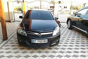 Мухобойка, дефлектор капота Opel Astra Н с 2004-2009 г.в.