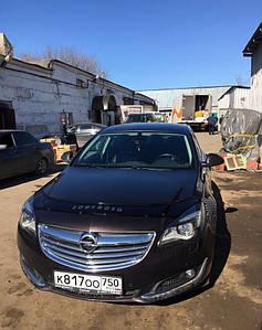 Мухобойка, дефлектор капота Opel Insignia с 2008-2013 г.в.