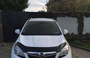 Мухобойка, дефлектор капота Opel Mokka с 2012- г.в.