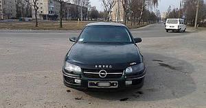 Мухобойка, дефлектор капота Opel Omega В с 1994–1999 г.в.