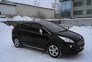 Ветровики Peugeot 3008 2009-2017  дефлекторы окон