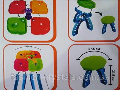 Столик-Песочница для игр с песком и водой 01-122 - фото 3