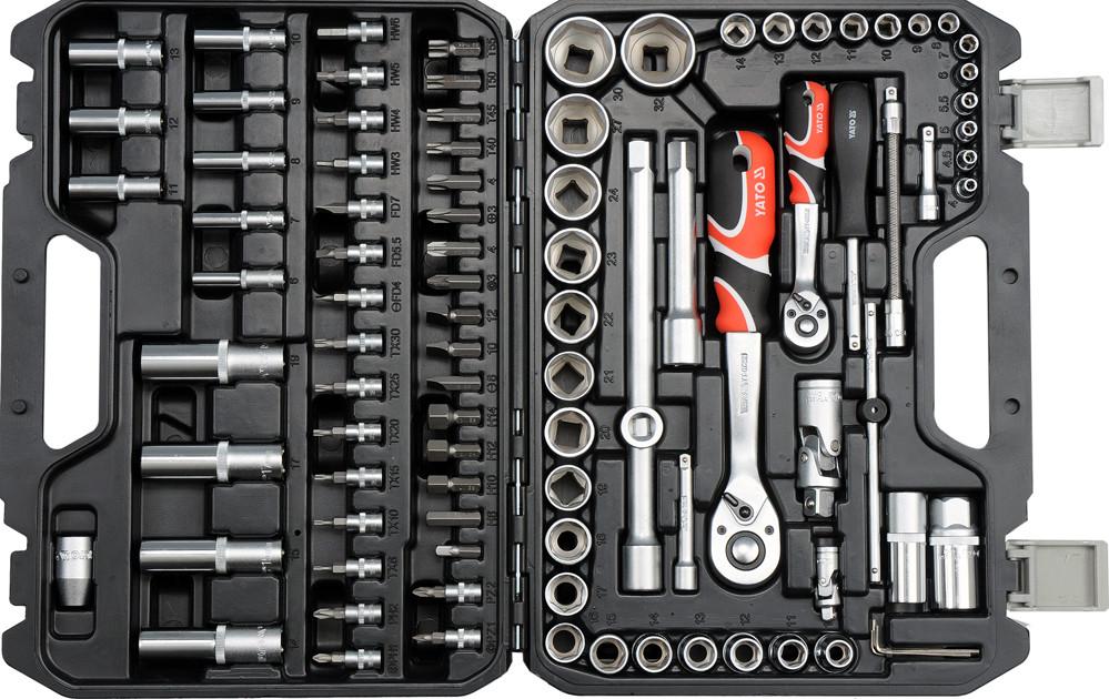 Професійний набір інструментів 94 эл. YATO YT-12681