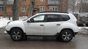 Ветровики Renault Duster 2010-2017  дефлекторы окон