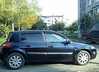 Ветровики Renault Megane II Hb 5d 2002-2008  дефлекторы окон