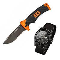 Часы SwissArmy и Нож Gerber Bear Grylls Ultimate