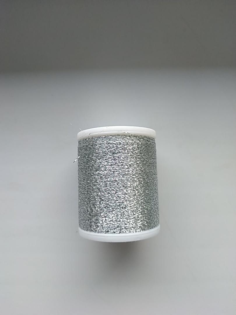Нитки для машинной вышивки   Madeira Super Twist  №30.  цвет 42  ( ХРОМ  ).  1000 м