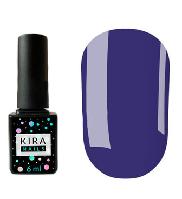 Гель-лак Kira Nails №158 (приглушенный синий, эмаль), 6 мл