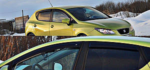 Ветровики Seat Ibiza IV Hb 5d 2009-  дефлекторы окон