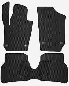 Коврики EVA для автомобиля Seat Ibiza V 2017- / VW Polo HB 2017- / Seat Aroma 2017- Комплект