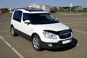 Мухобойка, дефлектор капота Skoda Roomster с 2006-2010 г.в.