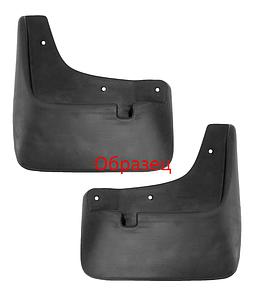 Брызговики задние для Skoda Fabia II (07-14) комплект 2шт 7016012361