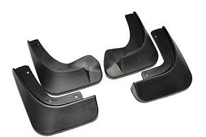 Брызговики полный комплект для Skoda Fabia 2007-2014 (KEA700001;KEA710001), комплект 4шт MF.SUFA0714