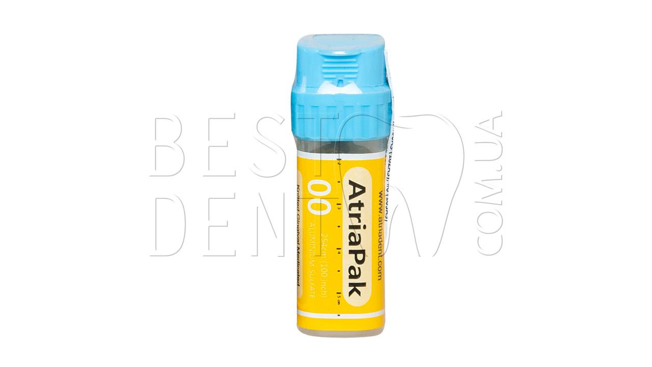 Нить ретракционная AtriaPak, 254 см, пропитаная (сульфат алюминия) № 00