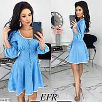 """Плаття стильне жіноче мод. 506 (L-XL, S-M) """"EBA"""" недорого від прямого постачальника, фото 1"""