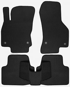 Коврики EVA для автомобиля Skoda Super B III 2015- / VW Passat B8 2014- Комплект