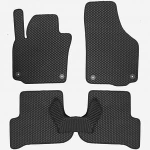 Коврики EVA для автомобиля Skoda Yeti 2009 / VW Golf Plus 2005- / Seat Altea XL 2009- Комплект