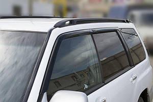 Ветровики Subaru Forester I 1997-2002 (4 части)  дефлекторы окон