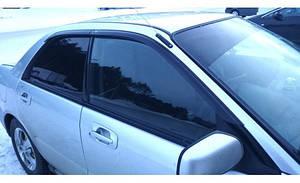 Ветровики Subaru Impreza II Sd/Wagon 2000-2008 (4 части)  дефлекторы окон