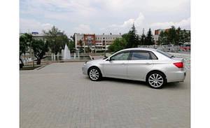 Ветровики Subaru Impreza IV Sd (GJ) 2011 дефлекторы окон