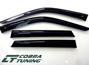 Ветровики Subaru Justy 5d 2007-2011  дефлекторы окон