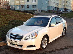 Ветровики Subaru Legacy V Sd 2009  дефлекторы окон