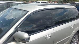 Ветровики Subaru Outback III/Legacy Wagon 2004-2009 (Цельная)  дефлекторы окон